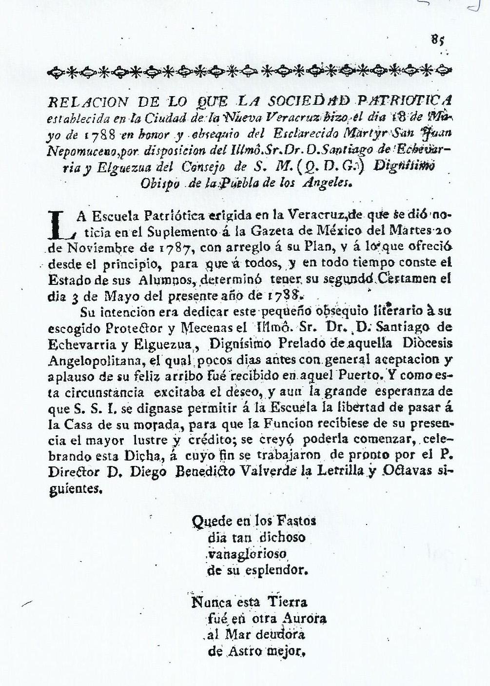 Forgotten Drama in Veracruz La Escuela Patritica de Veracruz